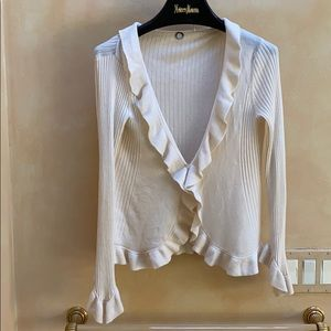 Ivory sweater, S